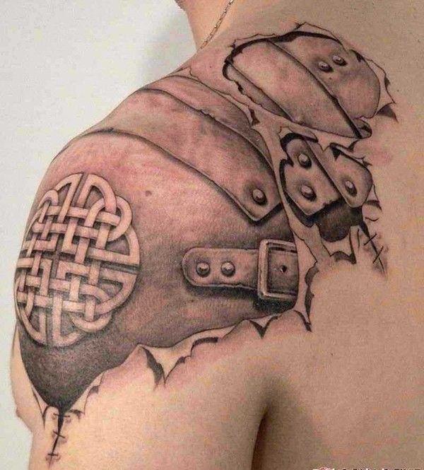 art du tatouages en trompe oeil. Black Bedroom Furniture Sets. Home Design Ideas